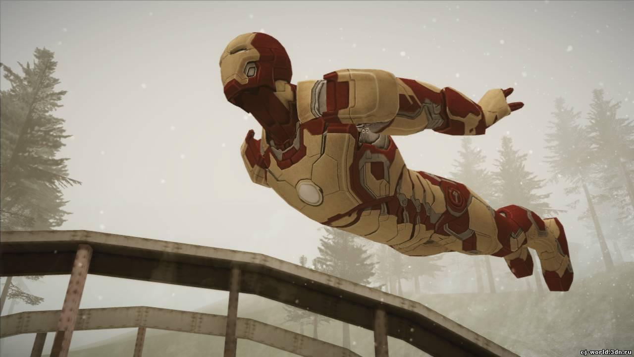 Iron Man Mark XLII - Новые персонажи - Скины - Архив файлов - GTA - CJ.WORLD